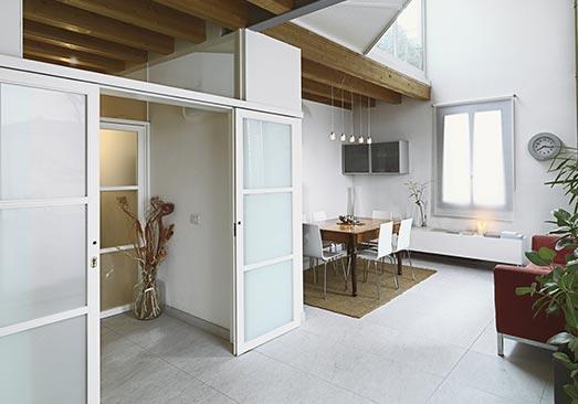 porte intérieure vitrée à Suresnes